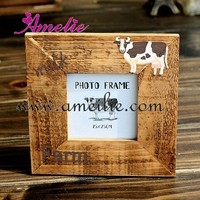 A0137 2013 French Style Letter Cow grave wholesale wooden picture frames