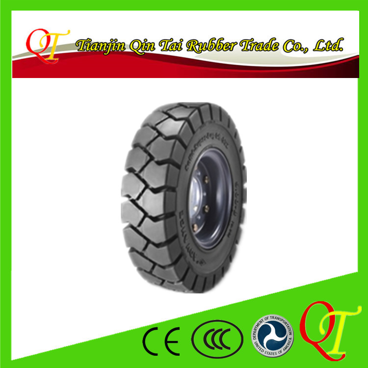 Forklift truck tire 6.50-10 pneumatic wheel 3 ton forklift truck drive rear wheel