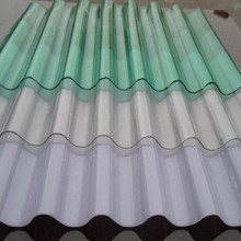 crystal clear solar control ability 10-year warranty price roof custom size corrugated polycarbonate sheet