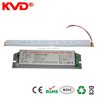 Emergency lighting module for led 18 watt T8 rectangle profile kit 1.5hr power