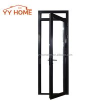 YY Home manufacturer cheap price comercial aluminum single swing door