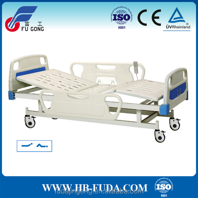 Hebei manufacturer remote control electric hospital bed and parts for sale