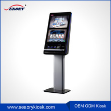 32 inch touch screen gaming terminal lottery payment kiosk