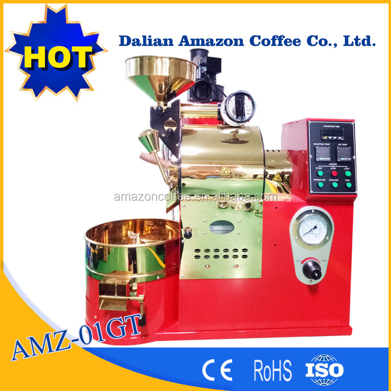 1 kg coffee roaster with stainless steel drum