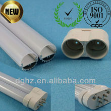 New type 2G11 pll led tube with diffuser pc cover and aluminum profile