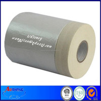 Cling Surface HDPE Pretaped Masking Film