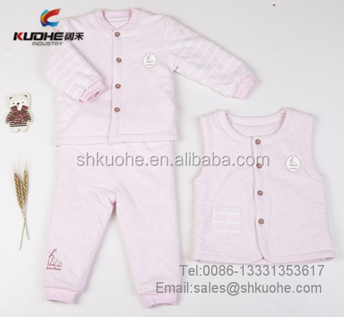 100% cotton baby body suits solid color infant baby pajamas