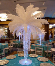 Ostrich feather wedding decoration wedding favor