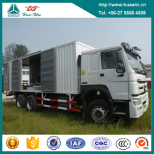 Sinotruk Howo 371HP 6x4 Mobile Workshop Truck