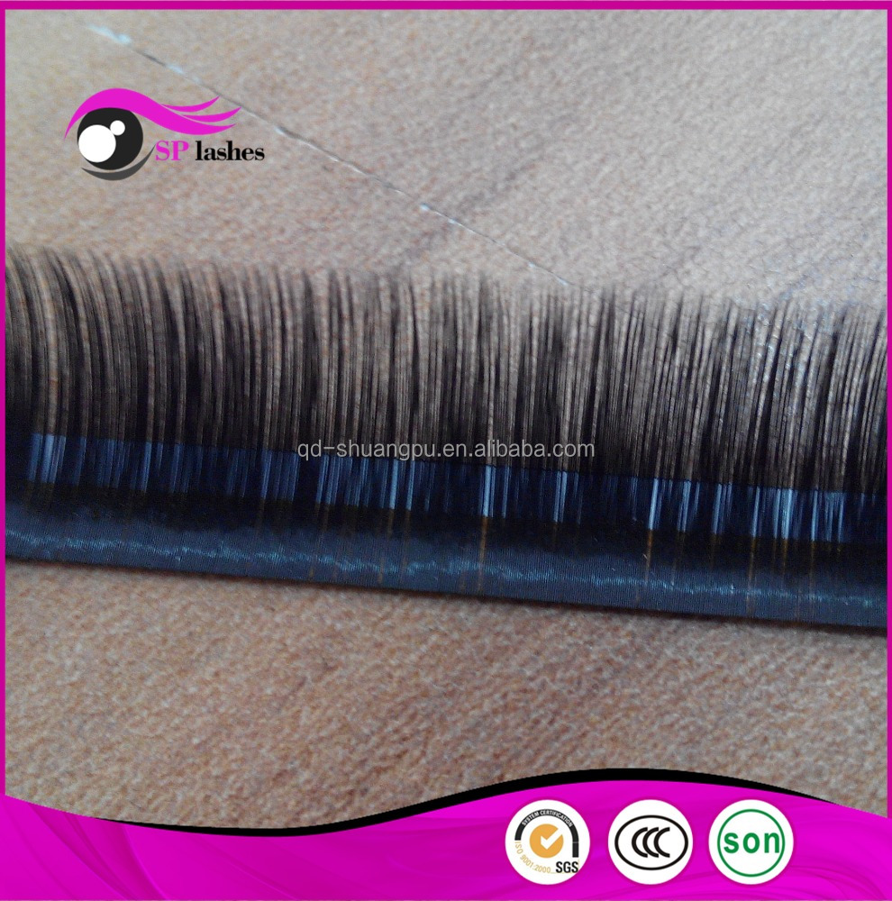 2016 Hot selling Premium Silk Lashes Synthetic hair eyelash extensions 0.07mm CC curl D curl Splendid Silk Lashes