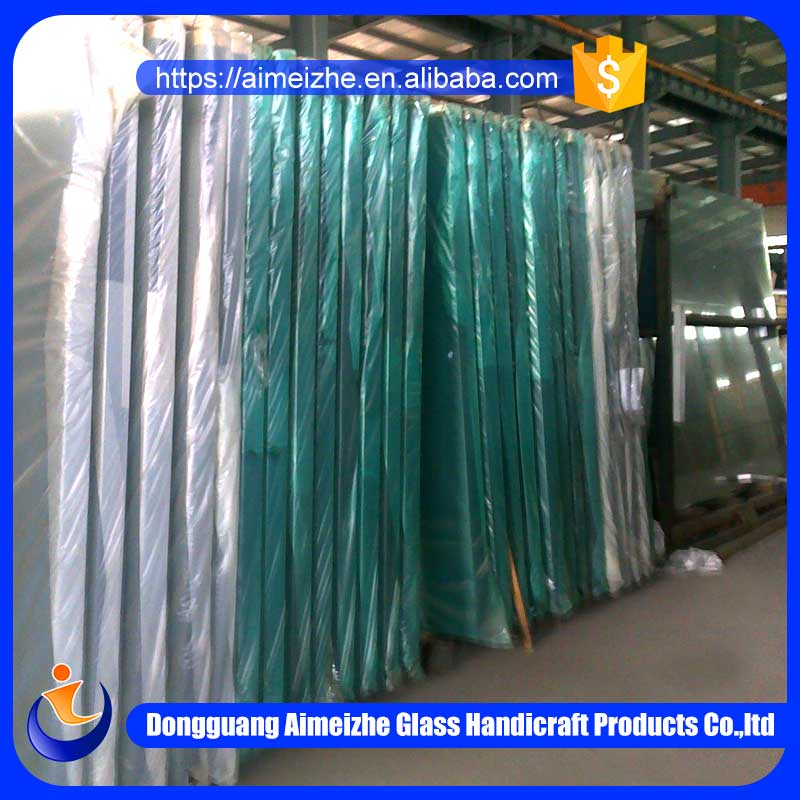 Alibaba golden supplier custom low price clear float glass