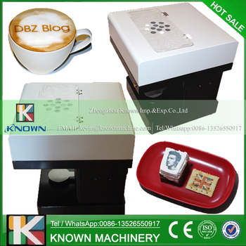 Latte Art Printing Machine Selfie Coffee Printer Automatic Edible Food Printer for Cookies,Chocolate etc.