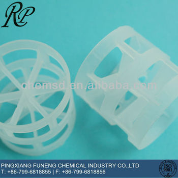 16mm 25mm 38mm 50mm 76mm 89mm 100mm PP Pall Ring