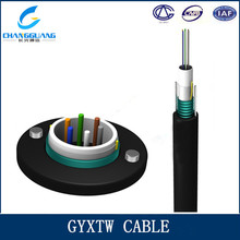 GYXTW unitube 8 core armored self supporting Aerial fiber Optical Cable