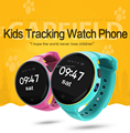 SOS Function Remote GPS Tracking Kids Smart watch with Emergency Anti-lost Tracker