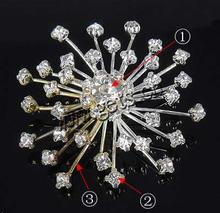 cheap flower brooch pin