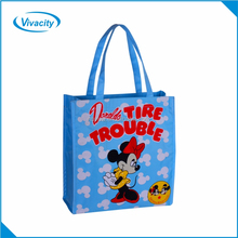 Custom Logo Printed laminated Shopper Tote PP non woven shopping bags