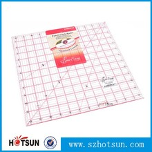 OEM custom High Transparent PMMA Rulers Patchwork ruler