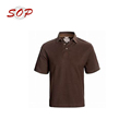 Custom Woven Label Men's Dark Polo Shirt