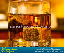 dice ice cube whisky stone