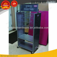 2014 china good factory cellphone store display with casters