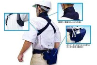 cooling safety vest for man outdoor hot days wholesale