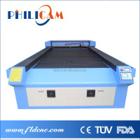 jinan CO2 Plastic Leather Playwood Die Board CNC Laser engraving machine price