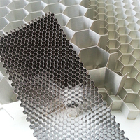 Aluminum Honeycomb core used in roof ventilation fans for workshop