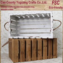 Wholesale Shabby chic vintage wood fruit crates