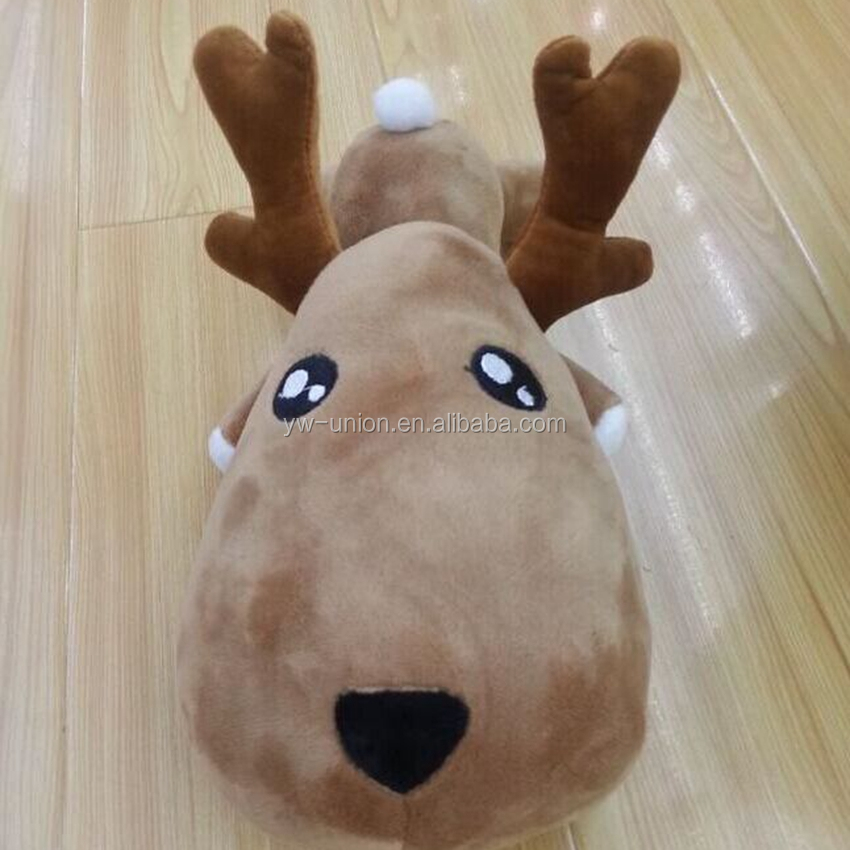 Big head plush animals hot sales cheap price ,plush toy pillow