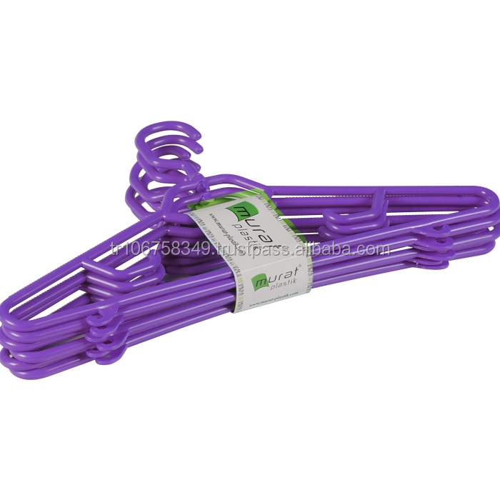 plastic hanger for special clothes