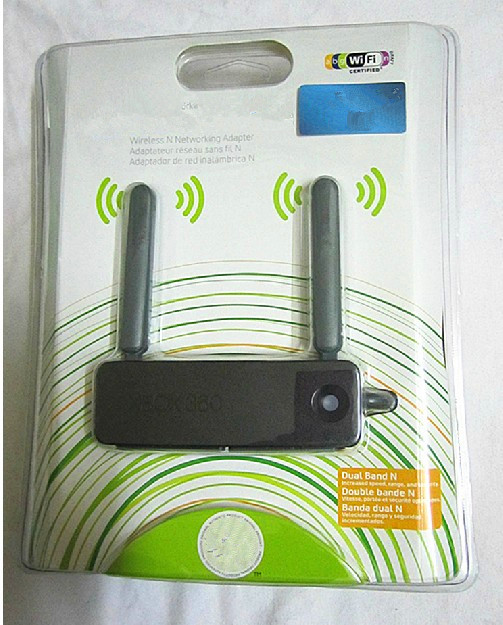For Xbox360 wifi double antenna wireless network adapter