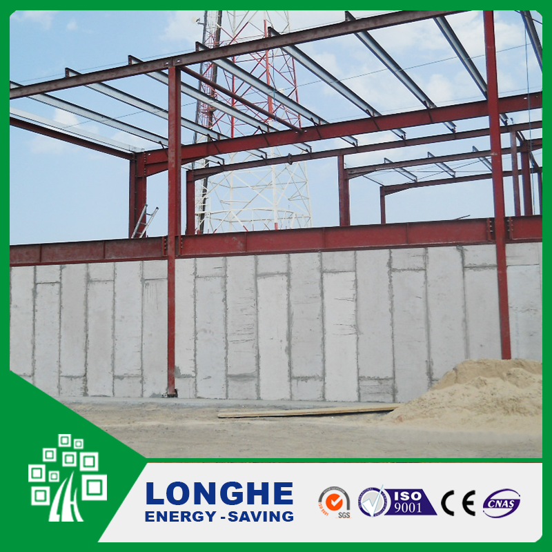 Precast Lightweight Ready Made House Concrete Wall Panels