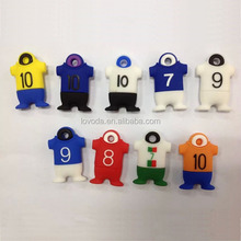 NBA T-shirt shape usb stick 512gb, fashionable usb 2gb flash drive, World cup 2014 souvenirs LFWC-08
