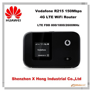 Unlock LTE FDD 150Mbps Vodafone R215 mobile pocket wifi 4G LTE WiFi Router 192.168.1.1 wireless router
