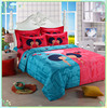 2015 luxury 100% cotton wedding bedding sets /bridal patch work bed sheets for sale