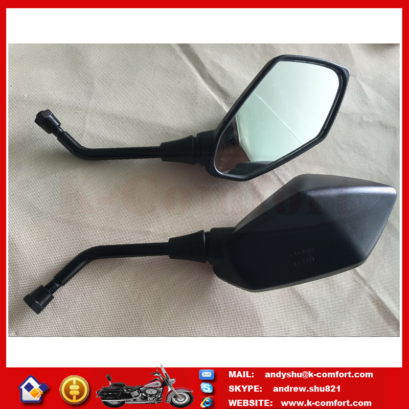 201607036 Free shipping Black Racing MOTORCYCLE MIRRORS For 1999-2006 Honda CBR 600 F4 F4i / RC51 / RVT 1000 DD250E/DD300/350