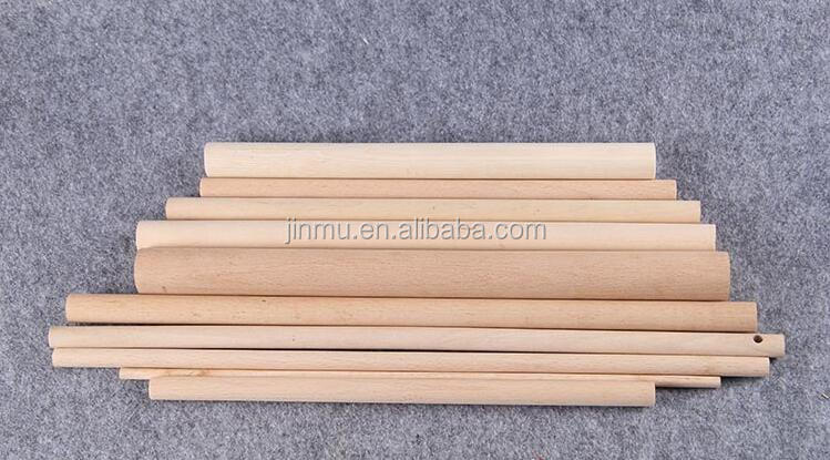 FSC high quality furniture accessories Wooden dowel rods manufacturer