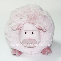 Customized Plush Pink Pig Ball Toy Peppa Toys Fo Kid High Quality