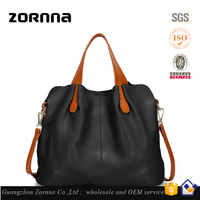 Zornna 2016 New Design Grain 100 Genuine Leather Handbags