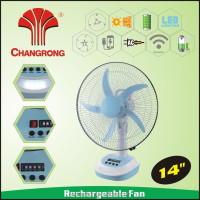 fan motor rechargeable solar battery operated fan emergency fan type