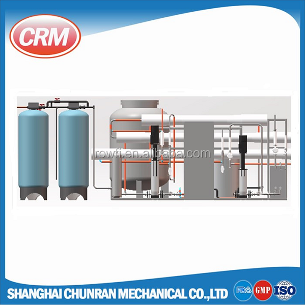 CE approved industrial reverse osmosis ro di system for water purification