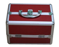 Multi Professional Vanity Case With Trays, New Make Up Box, Aluminum Beauty Case For Cosmetics
