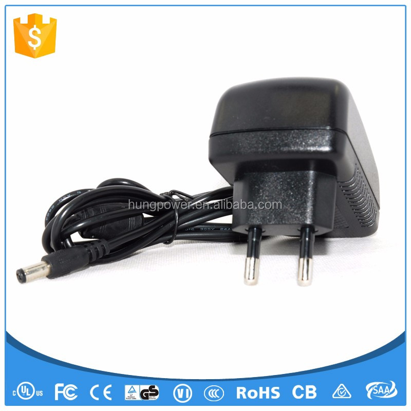 9v dc led driver power supply 2A UL CE FCC SAA KC PSE Class 2
