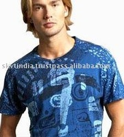 ALL OVER PRINTED MENS T SHIRT