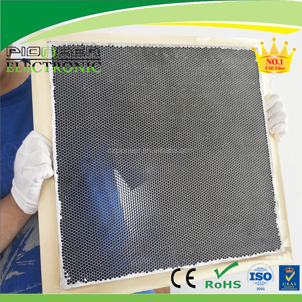 EMI/RFI shielding Steel and Brass materials Honeycomb Core