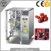 Advanced automatic dry dates pouch packing machine