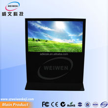 55 inch multifunctional advertsing LCD four point touch screen kiosk interactive technology