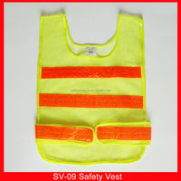 UK outdoors highway bike yellow hi vis tank tops safety vest