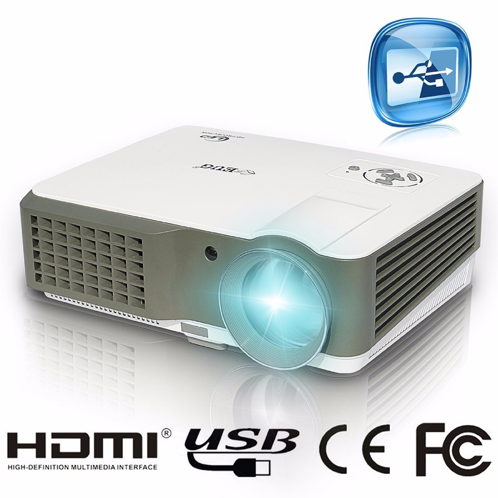 Hot sales newest 600d pico led projector 1500 lumens for Pico pocket projector best buy